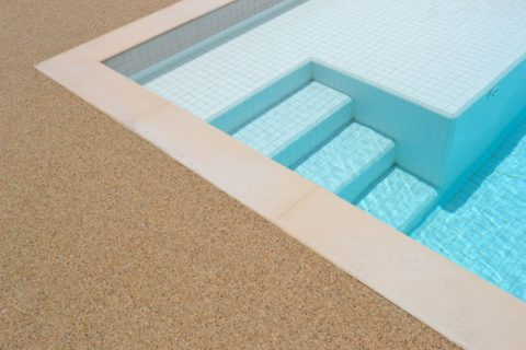 Resin Bound Flooring for Private Villa Pool Deck | Making Ground